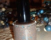 NEW Beautiful THANKS A LATTE: Custom Blended Glitter Nail Polish/ Indie Lacquer/Paris Sparkles