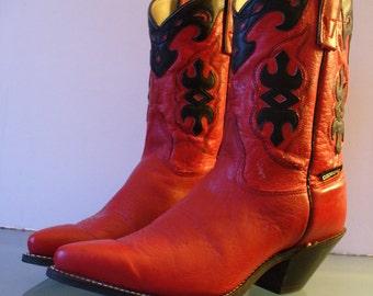 Vintage  Capezio Cow Girl Boots Size 7.5M