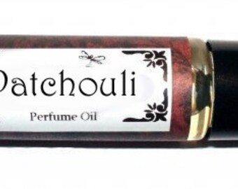 PATCHOULI Roll on Perfume Oil -  2 sizes to choose from - 1/3 oz or 1/6 oz
