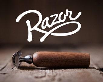 BEARD RAZOR, Classic Wet Shave Safety Razor