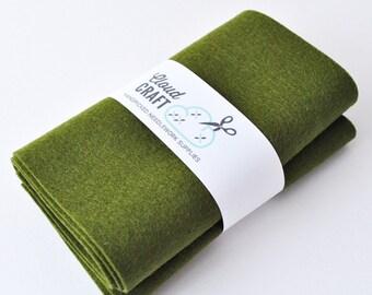 100 Percent Pure Wool Felt Roll - 12x90cm - Artichoke