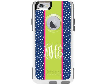 Sprinkles Personalized Custom Otterbox Commuter Case for iPhone 6 and iPhone 6s