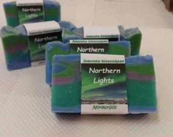 Northern Lights - Icelandic Luxury Vegan Handmade Soap - Aurora Boralis