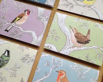 Garden Bird Notecards Set