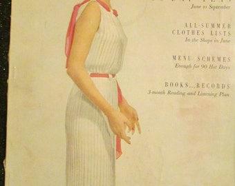 1950 June VOGUE MAGAZINE