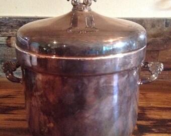 F.B Rogers Silver Co Ice Bucket