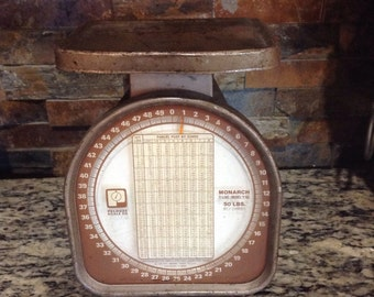 Vintage Pelouze Kitchen Scale