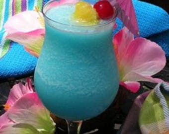 Blue Hawaiian Fragrance Oil - Candle/Soap Making - Free Shipping in USA