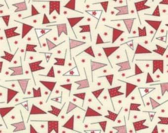 Moda - Fat Quarter - Wishes - Red Flag