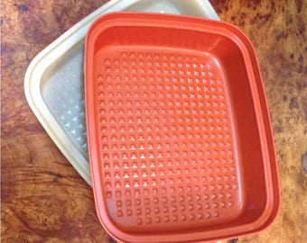 Large vintage Tupperware container