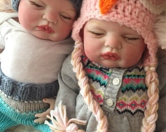 TWINS From the Sugar Kit  Reborn Baby Doll 20 inch Twins Baby Murphy and Mila