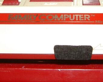 1 piece Famicom front Controller port cap dust cover