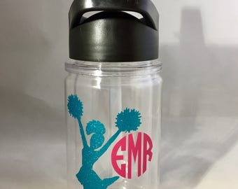 Kids 10 oz Double wall Tumbler Water Bottle, Maars Water Bottle, Customizable, Permanent Etching or Vinyl, You Choose!