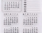 Rubber Stamps Calendar Stamp- Travel Stamps