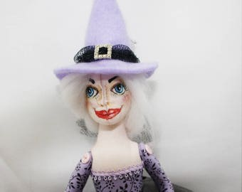 Witch Art Doll Bluebelle