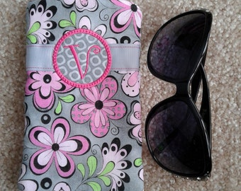V - Eye glass case, eyeglass holder, Sunglasses