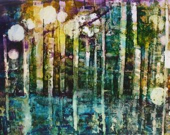 Abstract Art Print, Abstract Print, Abstract Decor, 8x10 Print, Print of Orignal Art