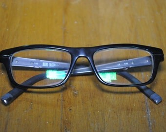 Vintage Authentic KL Karl Lagerfeld Rx Glasses