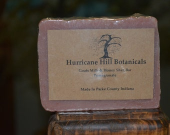 Pomegranate & Honey Goats Milk Soap
