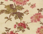 On Sale Reserved for Marjorie - Vin Du Jour Floral by 3 Sisters for Moda - One Yard - 44022 16