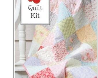 SALE Fleurs Baby Quilt Kit - One Quilt Kit - FLRSQK