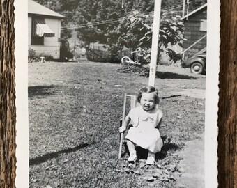 Original Vintage Photograph Katie Cutie