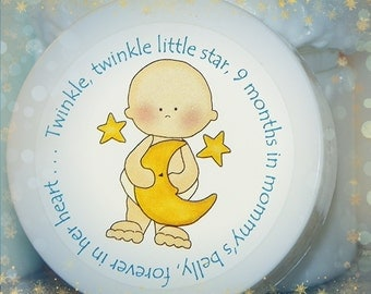 Twinkle Twinkle Little Star, Baby Shower Favors, Whipped Body Butter, Unique Baby Shower Favors, Shower Favor, Boy, Baby Boy Favor