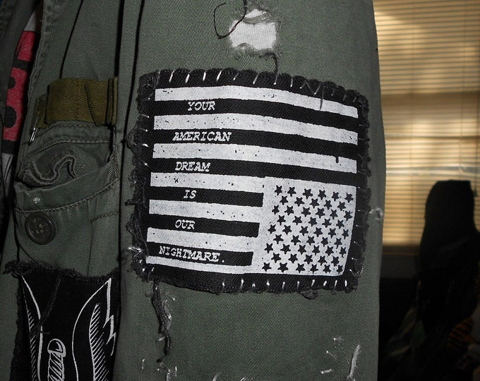 American Flag - Punk Patch