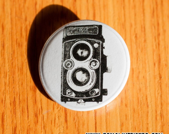 """Classic TLR - 1.25"""" Pinback Button"""