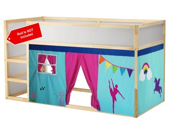 Bunk bed playhouse - We can customize the colors - Free design customization