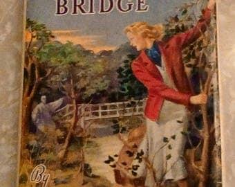Nancy Drew Haunted Bridge White Spine DJ Russell Tandy Cover
