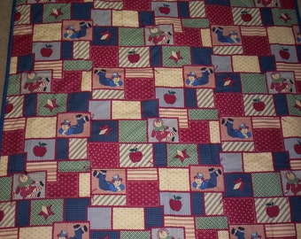 Raggedy Ann & Andy Baby Blanket
