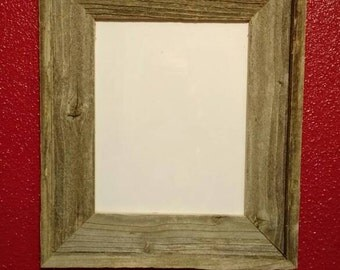 Single opening barnwood picture frame.