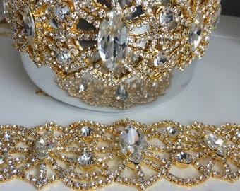 Victoria Crystal Choker, Crystal Choker, Diamond Choker, Choker Jewelry