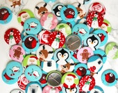 Christmas Badges For Children (great as stocking fillers, cracker gifts or school teacher / end of term gifts)
