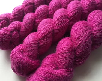 Recycled Lace Yarn - Cashmere - Mixed Berry