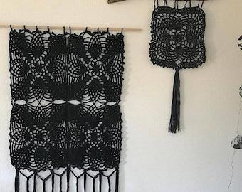 crochet wall hanging *lisboa*