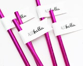 Alcoholla Paper Straws With Flags/day drinking/day drunk/dranks/party straws/wedding decor/just married/wedding straws/stagette/bachelor