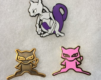 Mewtwo and Ancient Mews set