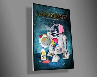 R2D2 laundry sign,Darth Vader Toilet sign,Stormtrooper bathroom sign,C3PO Bedroom sign,star wars,movie,art,door sign,door sign,geek,gift