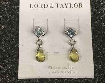 Brand new Old Stock Earring from Lord & Taylor Sterling Silver