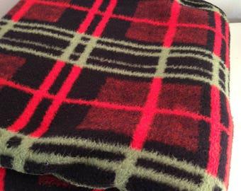 Retro blanket vintage blanket acrylic blanket