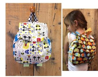 Backpack // Toddler Back Pack // Mickey Mouse Backpack // Gender Nuetral Backpack // Disney Backpack // Diaper bag // Disney //