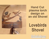 Metal Art Lovebirds Shove...