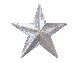 Salvaged Barn Wood Star -- Rustic Barn Star