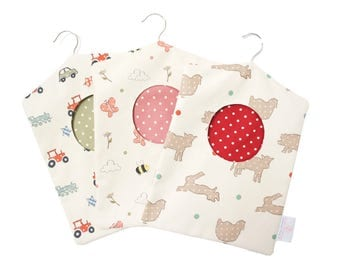 Printed Peg Bags - Farm, Meadow and Wheels Print Peg Bags - Laundry Tidy - Limited Edition
