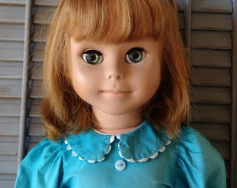 """McCall Corp Betsy McCall 29"""" Doll Vintage 1961 Mid Century Character Little Girl Collectible Toy Pretend Play Pal Size Fully Jointed"""