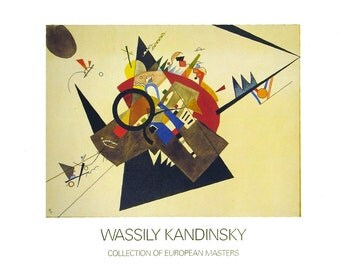 Wassily Kandinsky-Black Triangle-1992 Poster