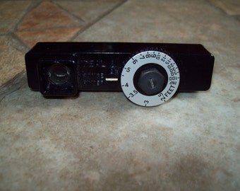 Ideal range finder photography photos pictures instrument camera retro vintage gadget electronics Federal Instrument Company New York USA
