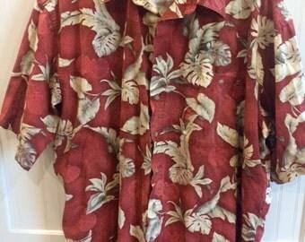 hawaiian shirt mens size 2xl